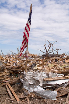 Cleaning up after Tornadoes and Hurricanes can be dangerous work